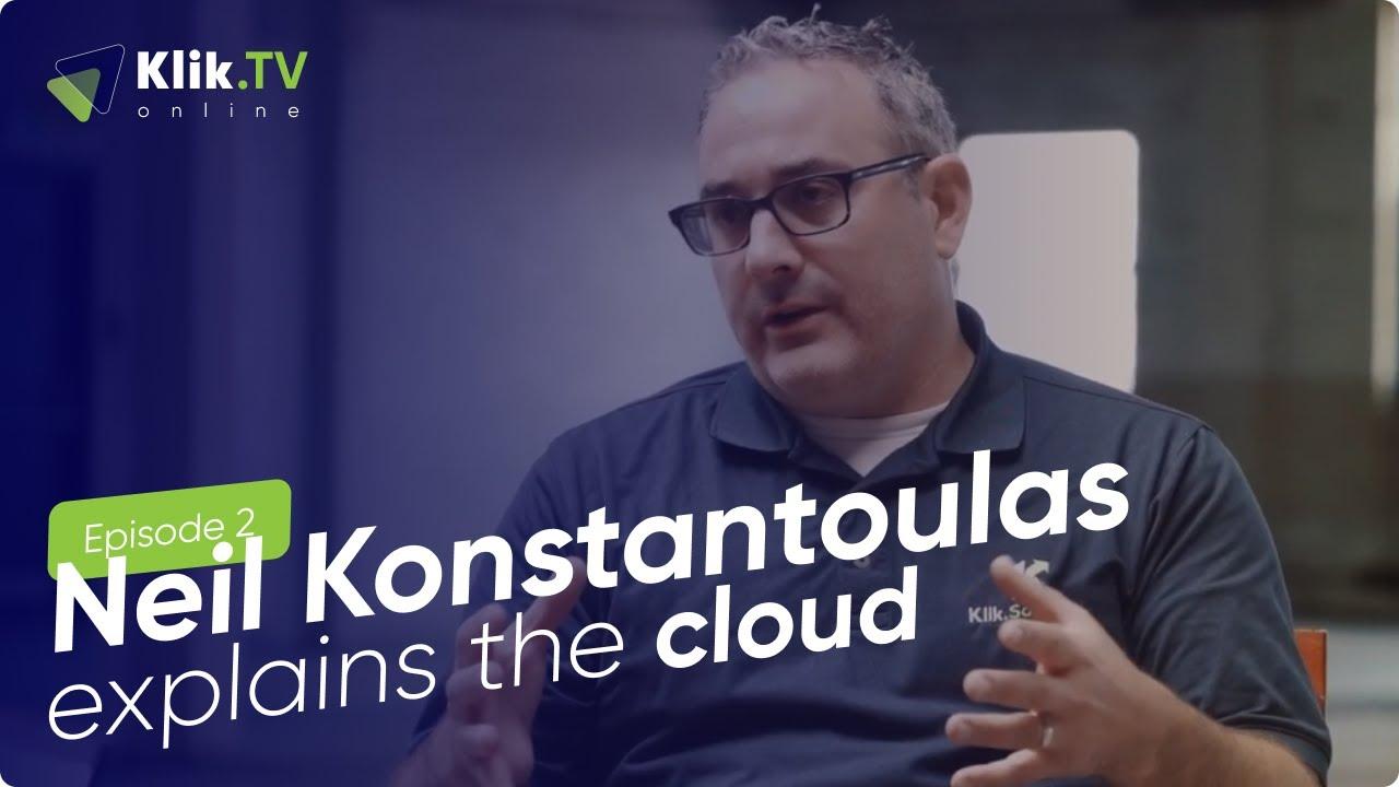 Neil explains the cloud